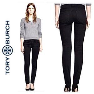 ☮️Tory Burch Black Super Skinny Jean Size 26